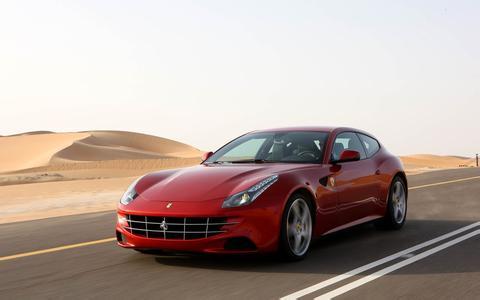 K518ISE program Ferrari